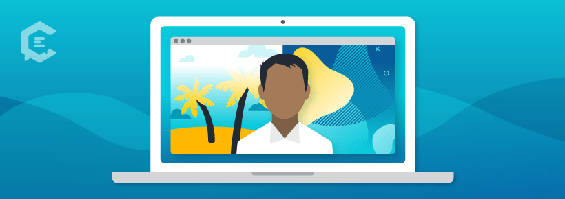 How to transform an in-person event into virtual: Reimagine your virtual background(s).