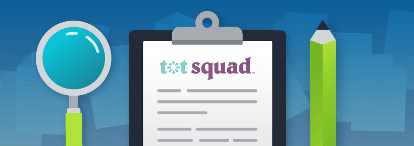 Tot Squad example of an executive summary.