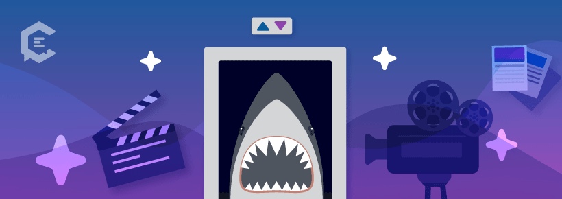 Movie elevator pitch example: 'Jaws'