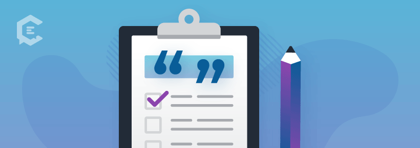 Checklist of where to use testimonials