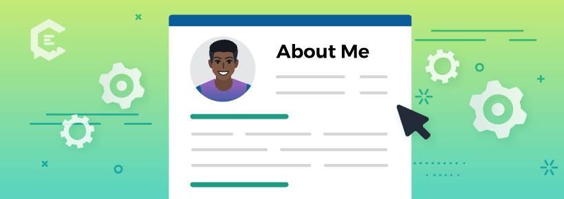 It's time to update your 'About Me' page already.