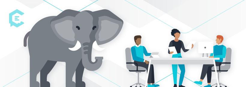 Temporary vs. permanent content strategies: Decide if you still need to address the elephant in the room.