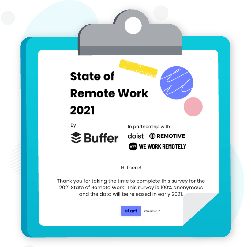 Survey (State of Remote Work)