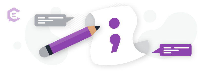How to use semicolons to vary your sentence structure.