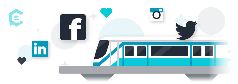 3 tips for getting on and getting off the social media train.