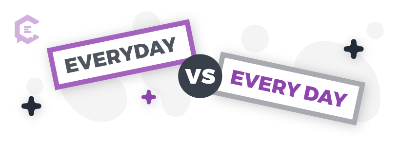 Common grammar mistakes you might be making: everyday vs. every day
