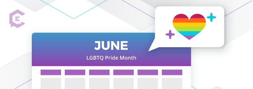 June is LGTBQ+ Pride Month