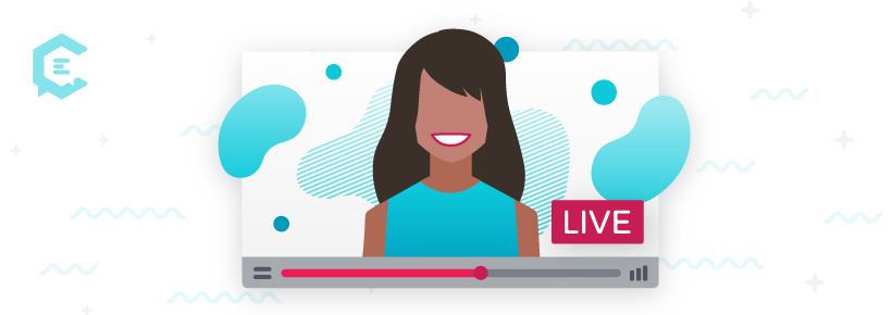 Use graphics in Facebook Live videos.