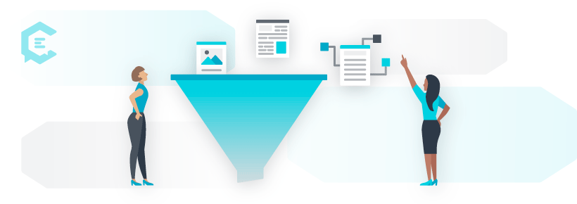 how content marketing drives marketing funnels