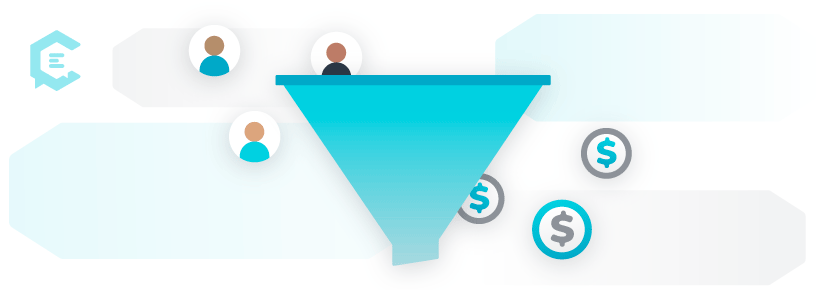 how does a marketing funnel work?
