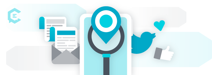 social media and email for local seo