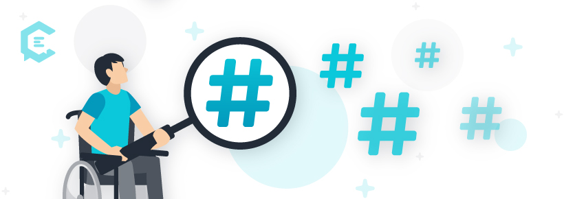 Don't discount the value of hashtags.