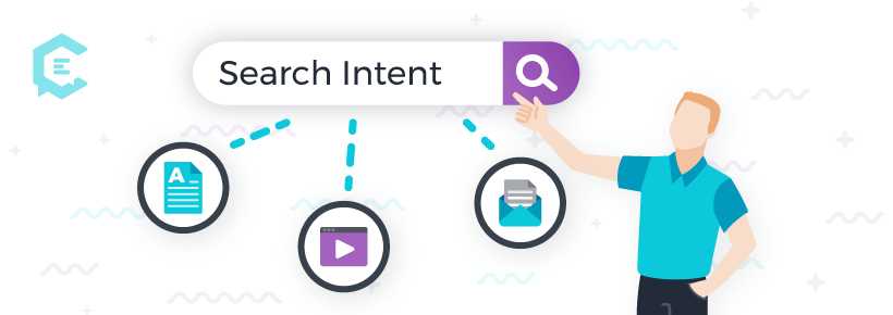Search intent and content types