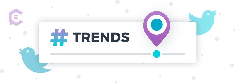 Changing twitter trend settings