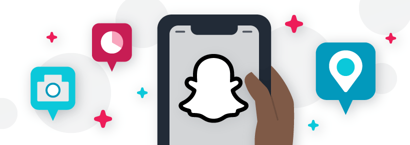 Social media updates for Snapchat: Snapchat provides the option of public follower accounts for content creators.