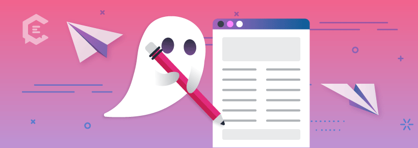 Ghostwriting is on the rise for freelancers.