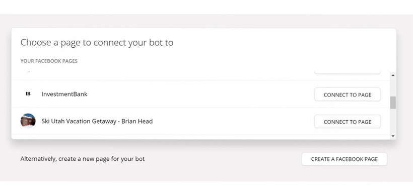 Building Your Facebook Chatbot - Step 2: Connect to your Facebook page