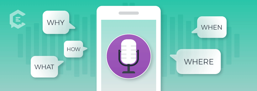 ask questions in content to get your site to pull up in voice searches